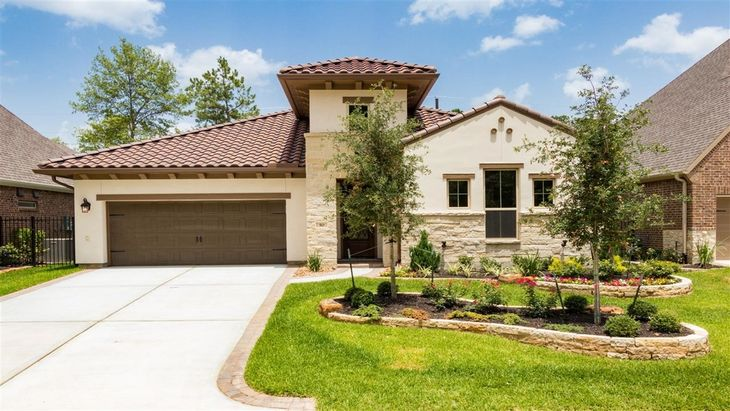The Woodlands Cassena Grove 55 Patio Homesites In The Woodlands