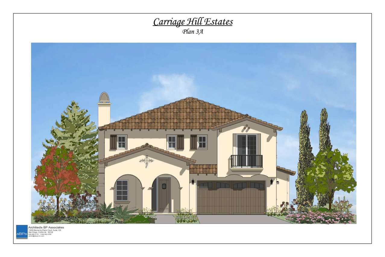 Exterior featured in the Plan 3 By Davidson Communities in San Diego, CA
