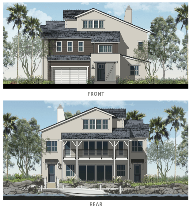 Exterior featured in The Edgewater with Crow's Nest By Davidson Communities in Oakland-Alameda, CA