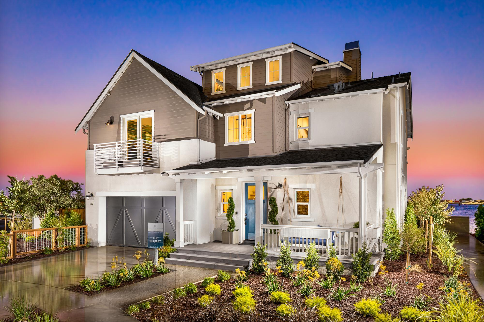 Exterior featured in The Retreat By Davidson Communities in Oakland-Alameda, CA