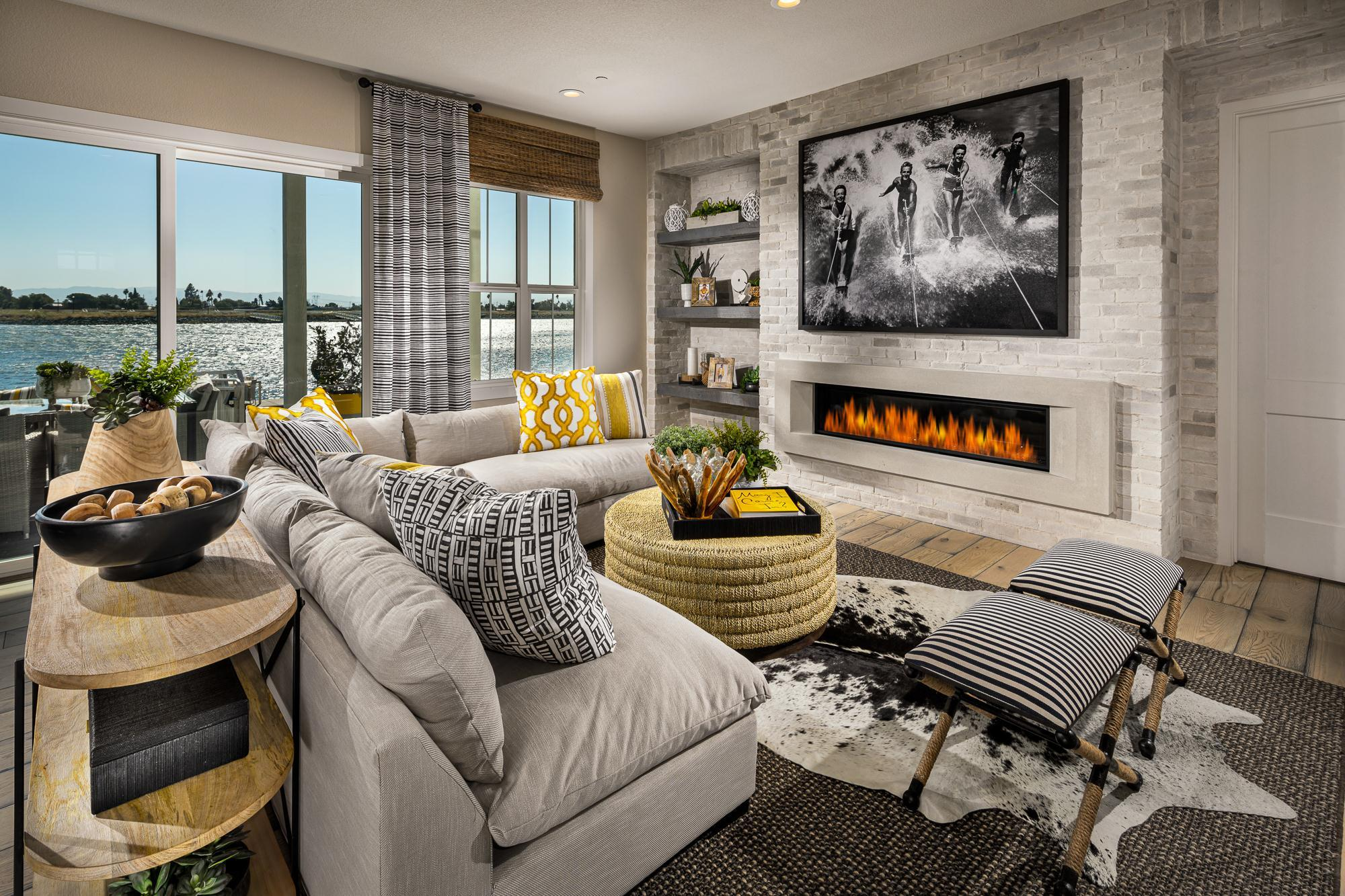 Living Area featured in The Edgewater By Davidson Communities in Oakland-Alameda, CA