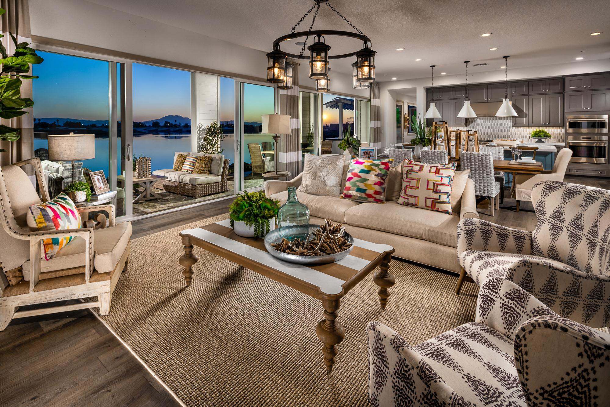 Living Area featured in The Shoreline By Davidson Communities in Oakland-Alameda, CA