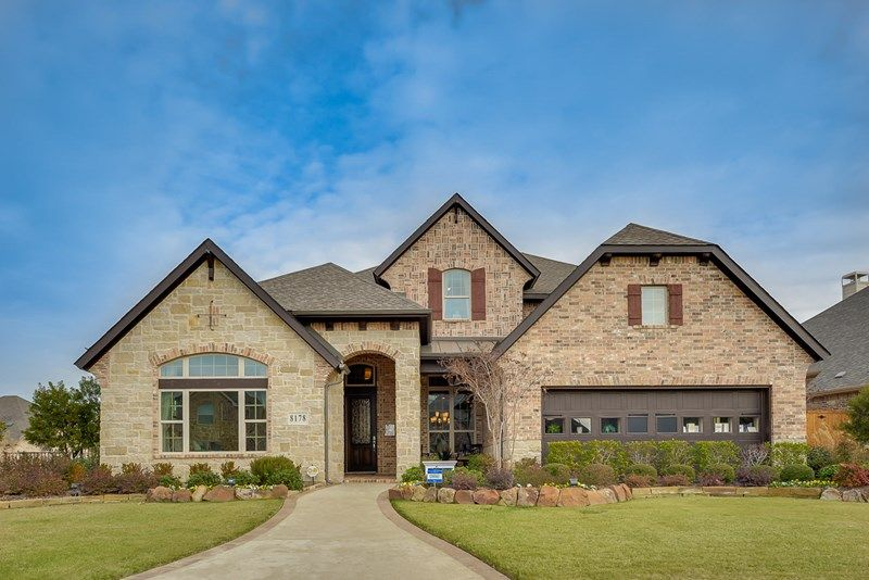 New Construction Homes And Floor Plans In Lake Dallas Tx