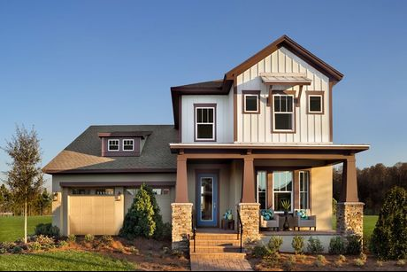 Manville Plan At Laureate Park Lake Nona Homes In Orlando