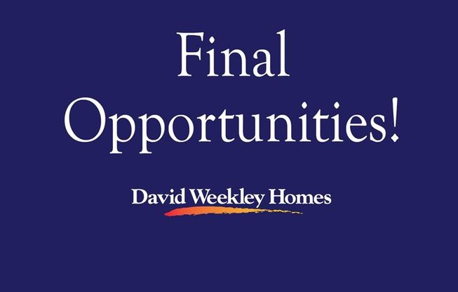 Final Opportunities In Liberty Branch