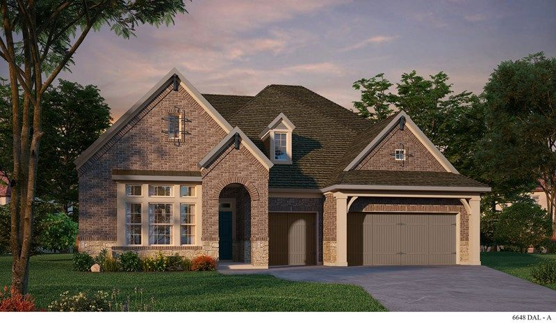 New construction homes and floor plans in lake dallas tx for New home source dfw