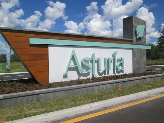 Asturia - Entrance Monument