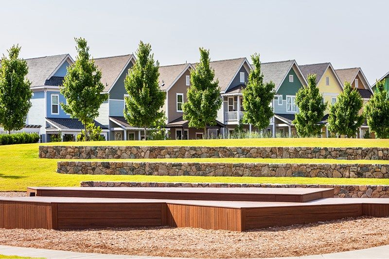 'Briar Chapel Townhomes' by David Weekley Homes in Raleigh-Durham-Chapel Hill