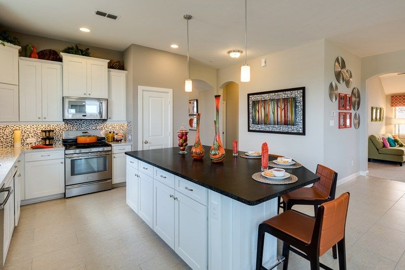 Kitchen-in-Kepley-at-Cane Island - Elmwood Trails-in-Katy