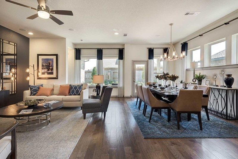 Living Area featured in the Oakbrook By David Weekley Homes in Houston, TX
