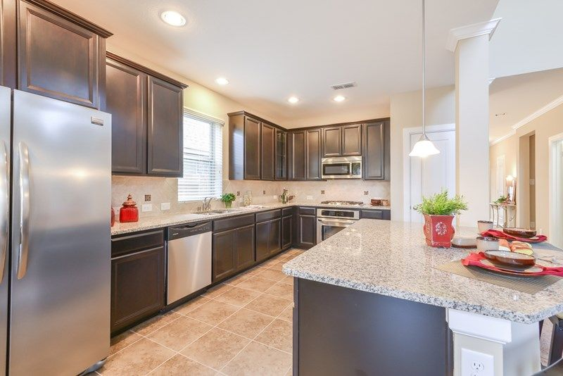 Kitchen-in-Cruise-at-Cane Island - Elmwood Trails-in-Katy