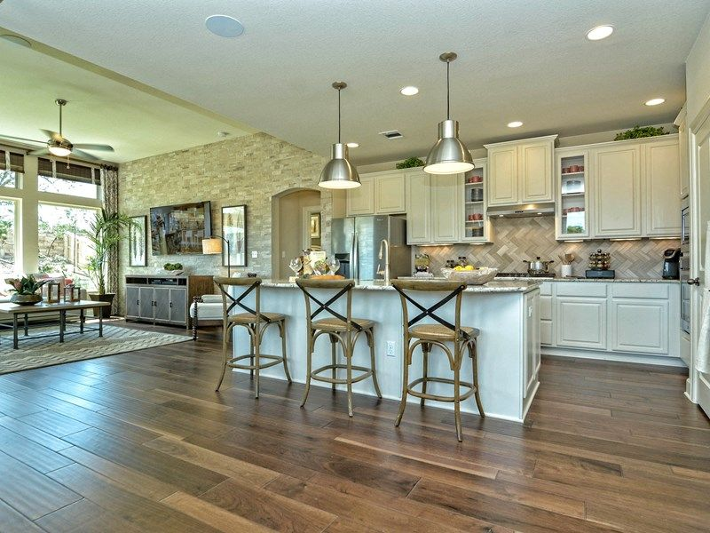 Kitchen-in-Jewel-at-Cane Island - Elmwood Trails-in-Katy