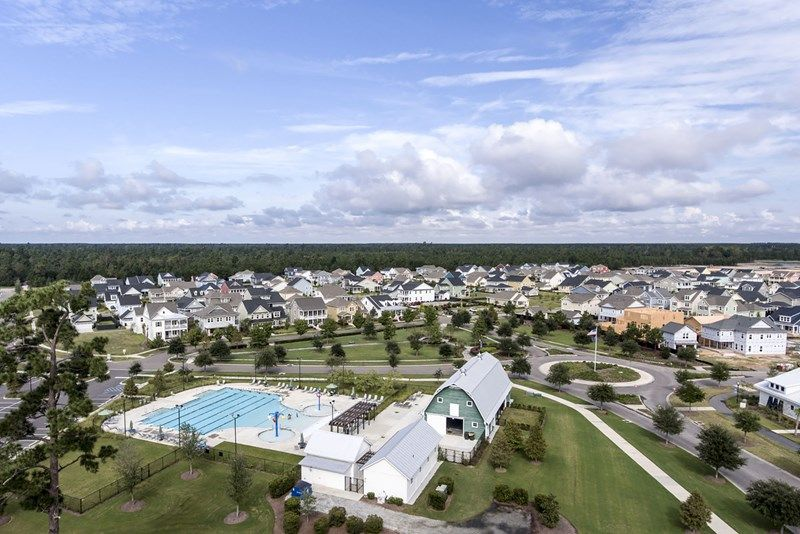 'Carnes Crossroads - Cottages' by David Weekley Homes in Charleston