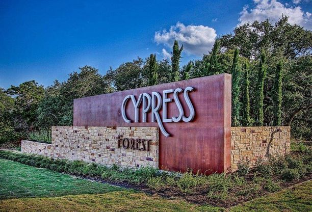 Cypress Forest - Entrance Monument