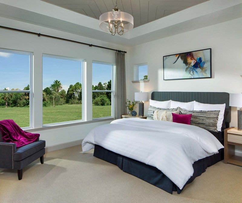 Bedroom featured in the Crandon By David Weekley Homes in Jacksonville-St. Augustine, FL