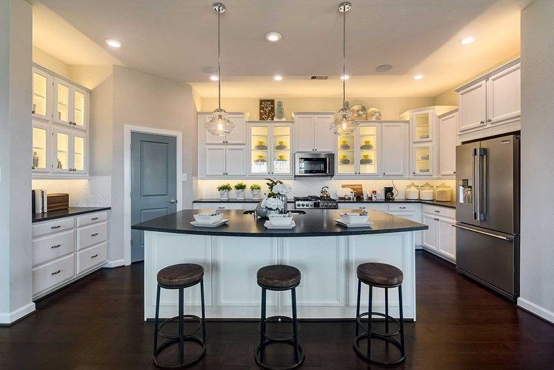 Kitchen featured in the Roth By David Weekley Homes in Houston, TX
