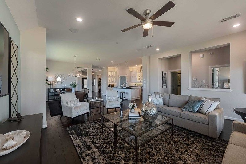 Living Area featured in the Roth By David Weekley Homes in Houston, TX