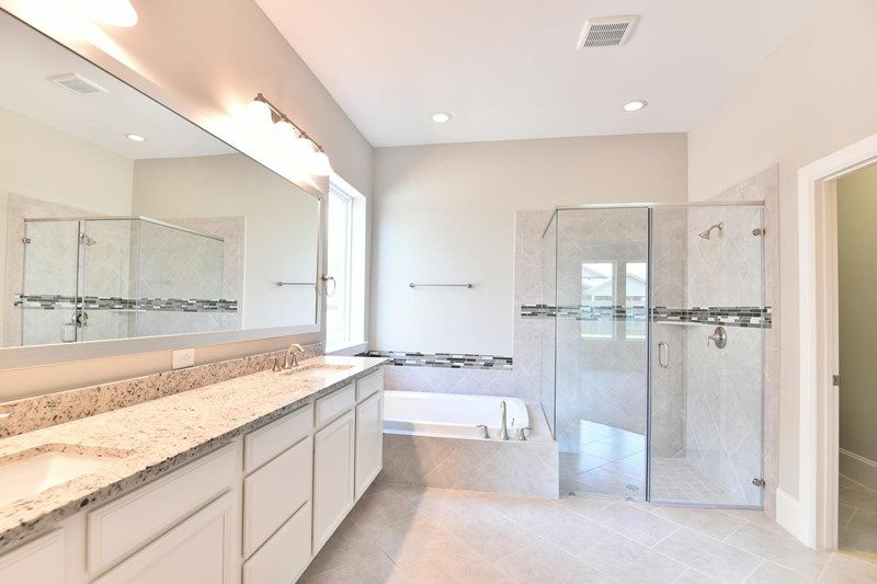 Bathroom featured in the Blanco By David Weekley Homes in Houston, TX