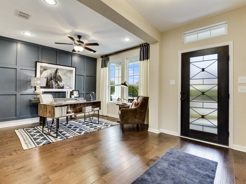 Living Area featured in the Latham By David Weekley Homes in Austin, TX