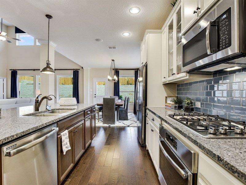 Kitchen featured in the Latham By David Weekley Homes in Austin, TX