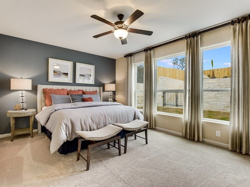 Bedroom featured in the Latham By David Weekley Homes in Austin, TX