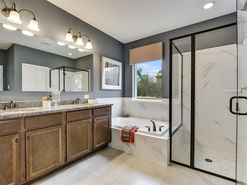 Bathroom featured in the Latham By David Weekley Homes in Austin, TX