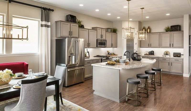 Kitchen-in-Cherish-at-Harmony at Eastmark-in-Mesa