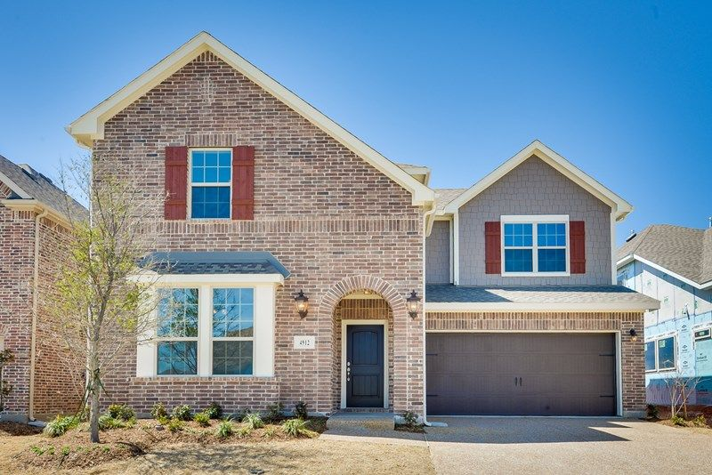 Exterior featured in the Strickland By David Weekley Homes in Dallas, TX