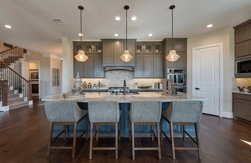 Kitchen featured in the Wellington By David Weekley Homes in Houston, TX