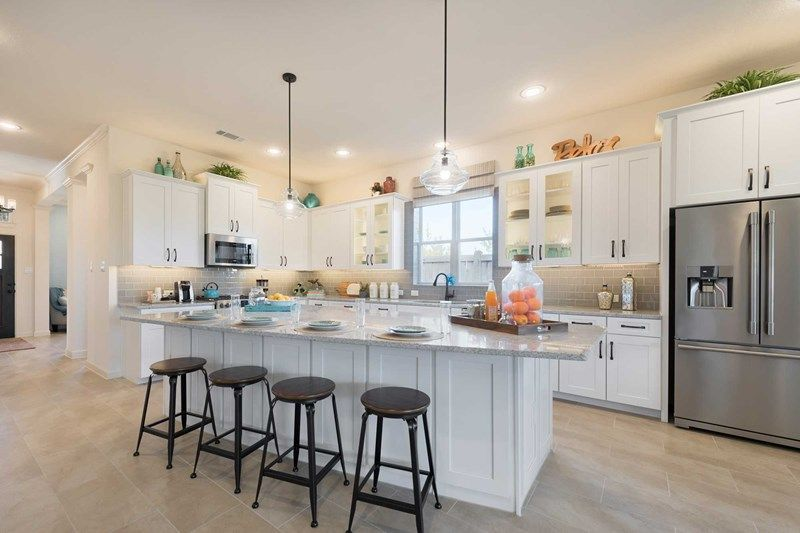 Kitchen featured in the Hennessey By David Weekley Homes in Houston, TX