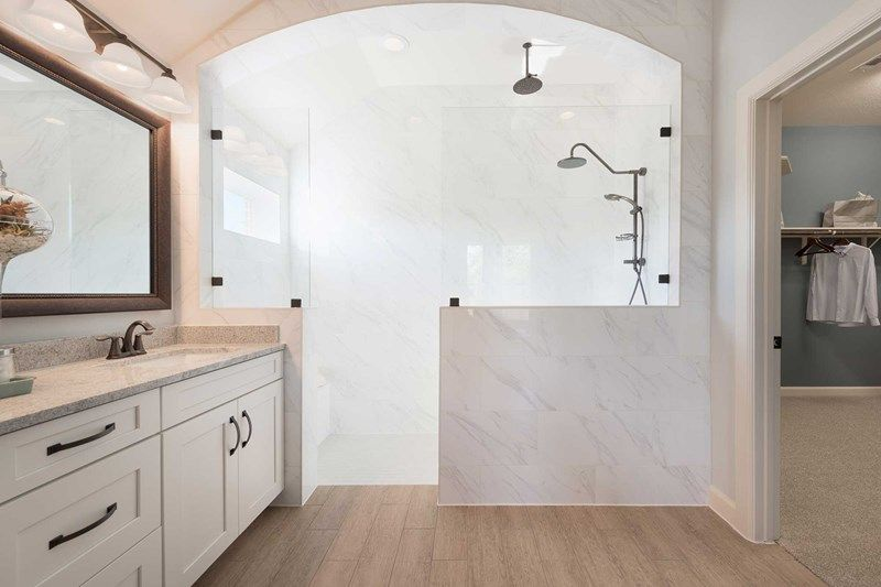 Bathroom featured in the Hennessey By David Weekley Homes in Houston, TX
