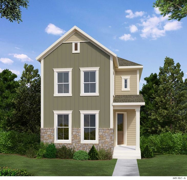 Exterior:The Coppell - A Exterior
