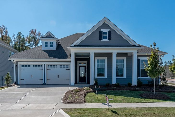 Exterior:The Knightdale - A Exterior