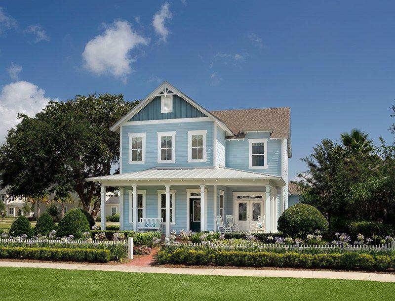 Seaside   Oakland Park   Village Homes: Winter Garden, Florida   David  Weekley Homes