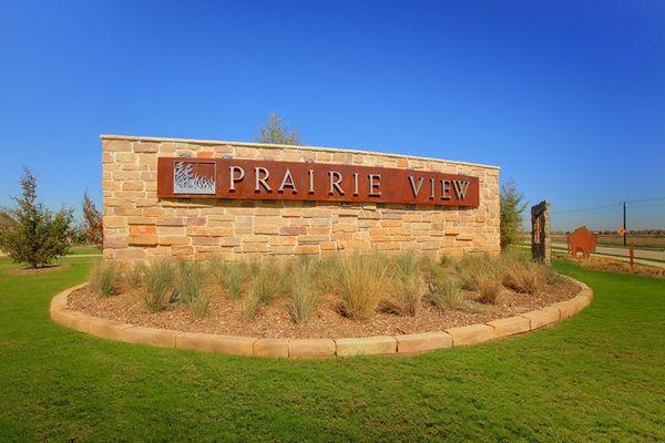 Prairie View - Entrance Monument