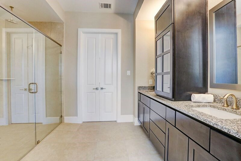 Bathroom In Hollowmill At Royal Oaks Square   City Homes In