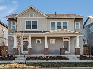 West Elk - Central Park - North End - Paired Homes: Denver, Colorado - David Weekley Homes