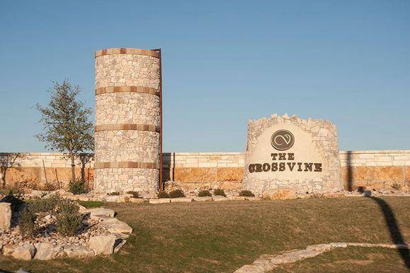 The Crossvine  - Entrance Monument