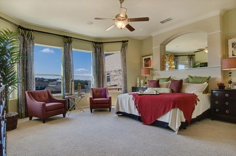 Bedroom featured in the Expedition By David Weekley Homes in San Antonio, TX
