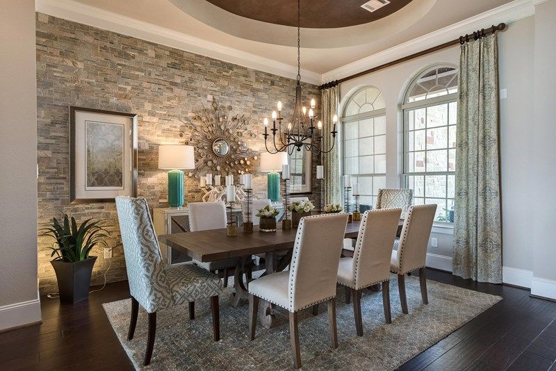 Living Area featured in the Ashgrove By David Weekley Homes in Houston, TX