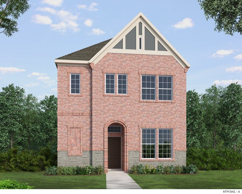Exterior featured in the Meriweather By David Weekley Homes in Fort Worth, TX