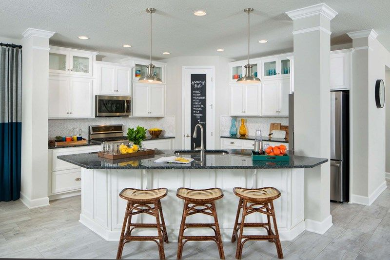 Kitchen featured in the Elsner By David Weekley Homes in Jacksonville-St. Augustine, FL