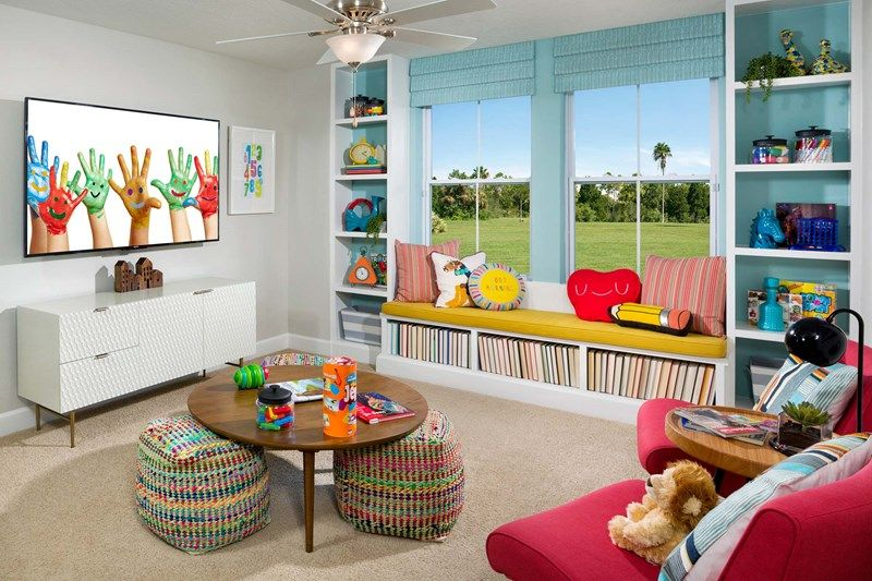 Living Area featured in the Elsner By David Weekley Homes in Jacksonville-St. Augustine, FL