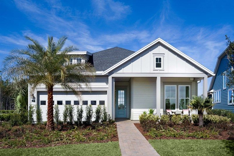 Exterior featured in the Crandon By David Weekley Homes in Jacksonville-St. Augustine, FL