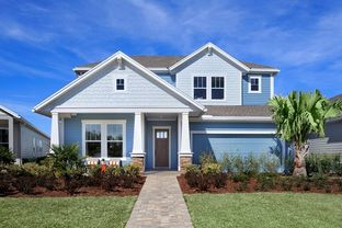 Boswell - Settler's Landing at Nocatee 50': Ponte Vedra, Florida - David Weekley Homes