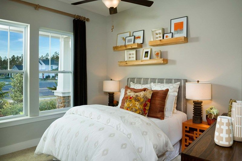 Bedroom featured in the Boswell By David Weekley Homes in Jacksonville-St. Augustine, FL