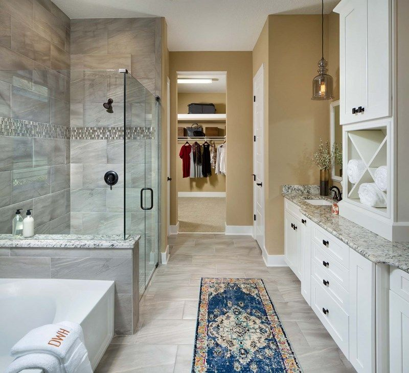Bathroom featured in the Boswell By David Weekley Homes in Jacksonville-St. Augustine, FL