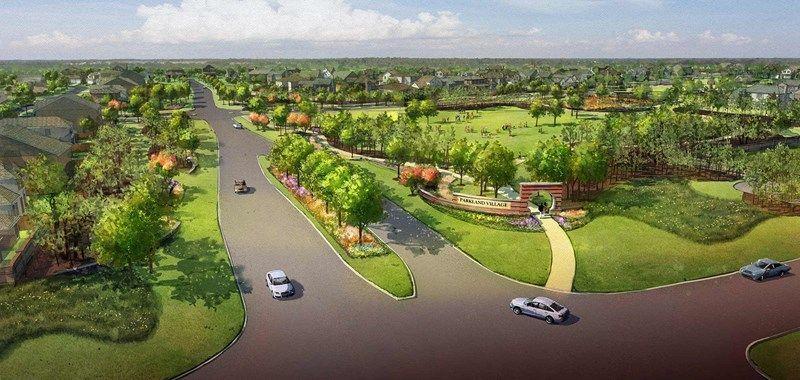 'Parkland Village 60'' by David Weekley Homes in Houston