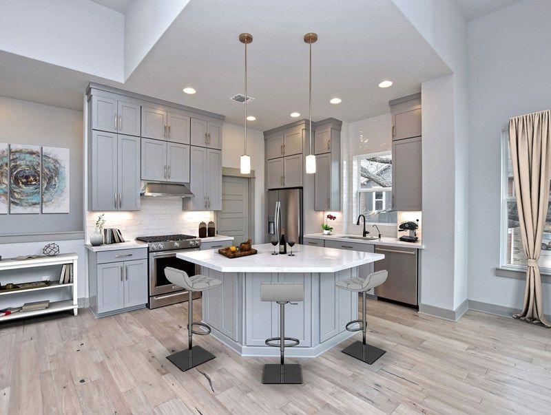 Kitchen featured in the Sierra By David Weekley Homes in Austin, TX