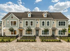 Bronco II - Griffin Park - Townhome Series: Lake Mary, Florida - David Weekley Homes